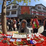 Heqing of the Bai people of Yunnan Dali - market