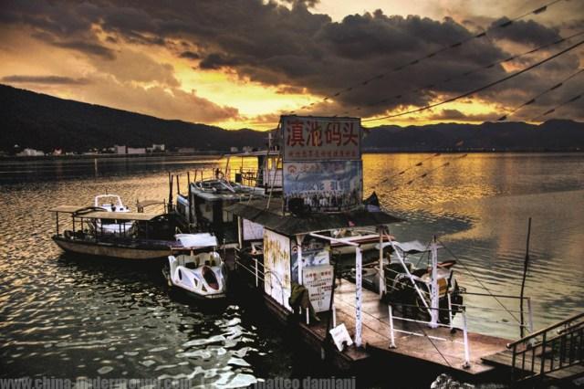Dianchi lake, Kunming, Yunnan