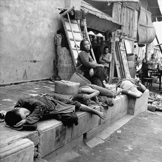 Images of Chinese famine during the Civil War