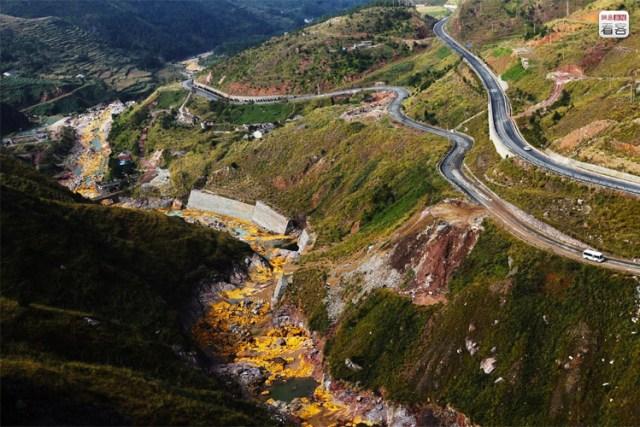 Jilong shan waste dump