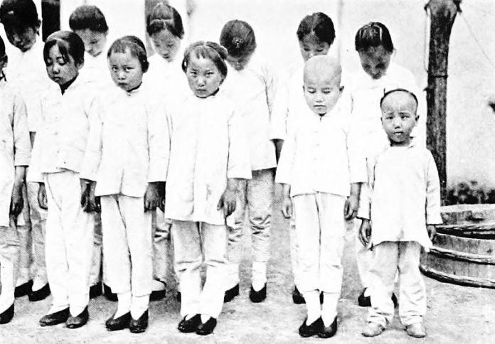 Rescued Slave Girls