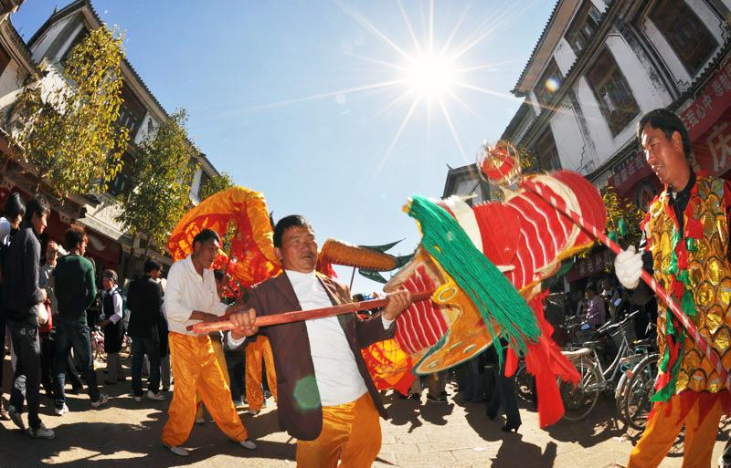 Heqing traditional dragon festival