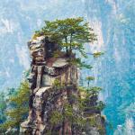 beautiful images of Zhangjiajie National Park in Hunan, China