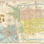 Map of Soochow for Travelers.