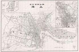 Map of Shanghai.