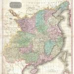 1818 Pinkerton Map of China (with Taiwan or Formosa)