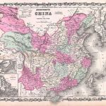 1862 Johnson Map of China