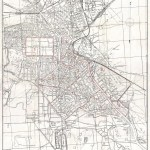 1941 Peiyang Map of Tientsin or Tianjin, China