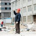 Beijing worker
