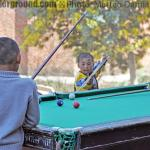 Kids and snooker