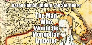 Baron Roman Ungern von Sternberg