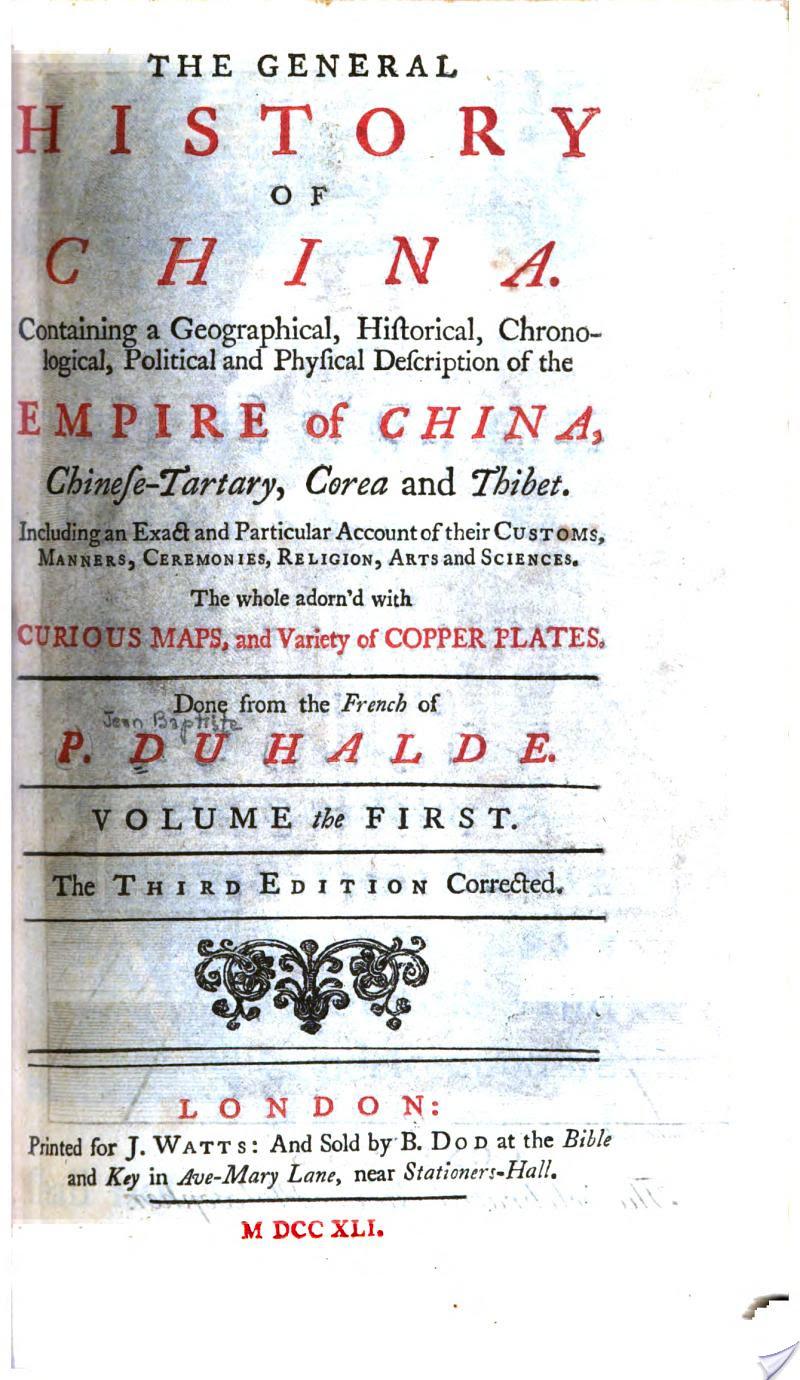 General History of China