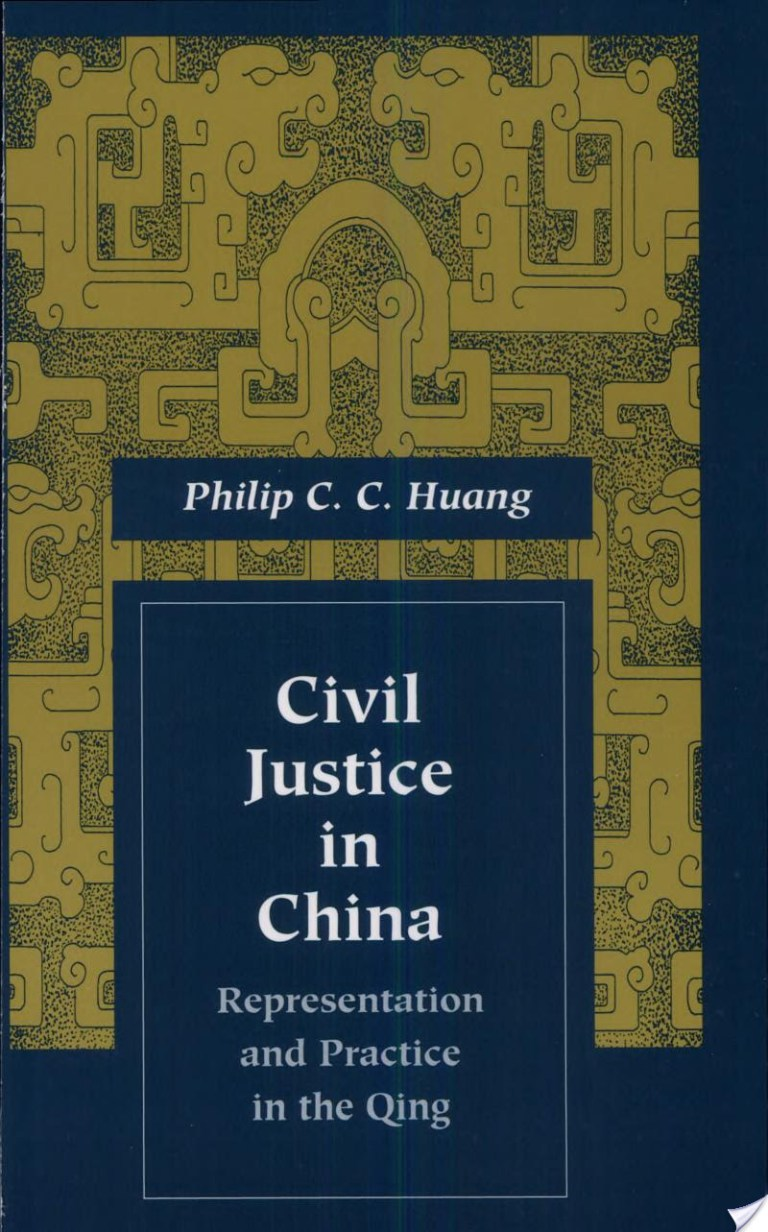 Civil Justice in China