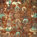 Devas. Dunhuang mural. Cave 272, Northern Liang dynasty
