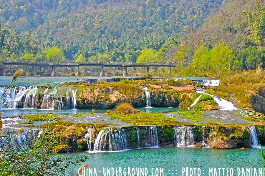 Jiulong waterfalls luoping yunnan china