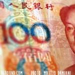 Renminbi, a Chinese banknote.