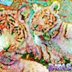 deepdream tigers