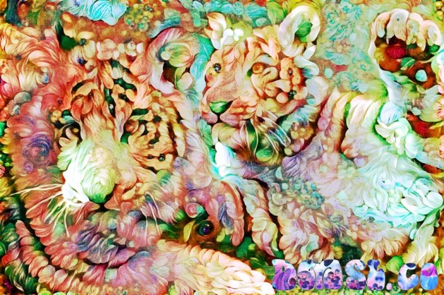 TIGERS - Deepdreaming China
