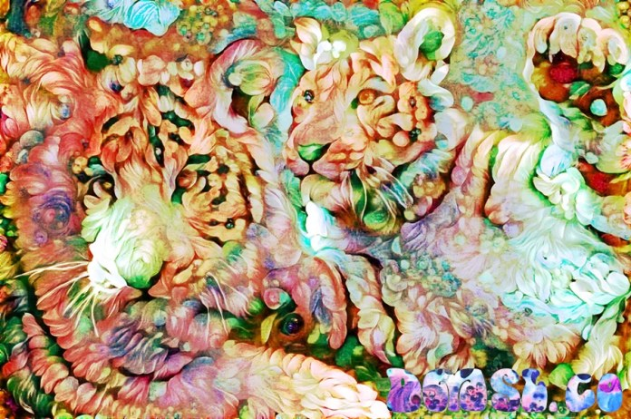 TIGERS - Deepdreaming China