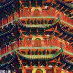 deepdream Chinese pagoda