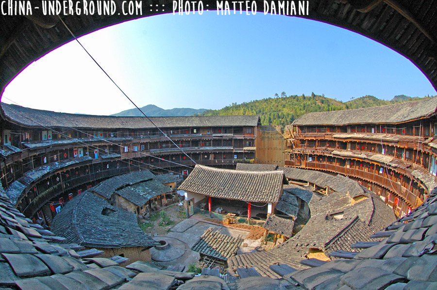 China facts-Ancient Earthen Castles in Tulou, Fujian