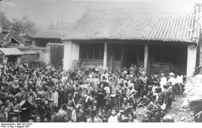 China, flood victims