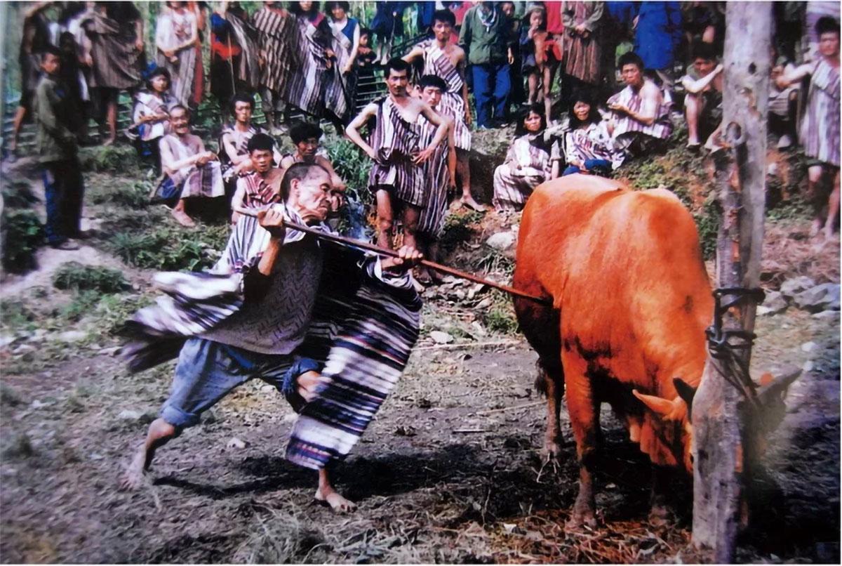 Dulong ethnic minority bull sacrifice.jpg