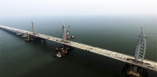 World's longest sea bridge