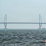 World's longest sea bridge, long 55 km, is completed