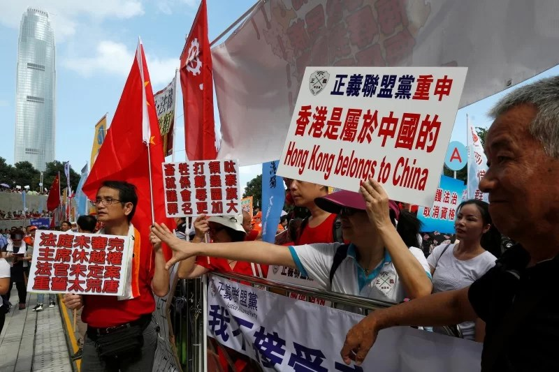 Hong Kong Indipendence activists