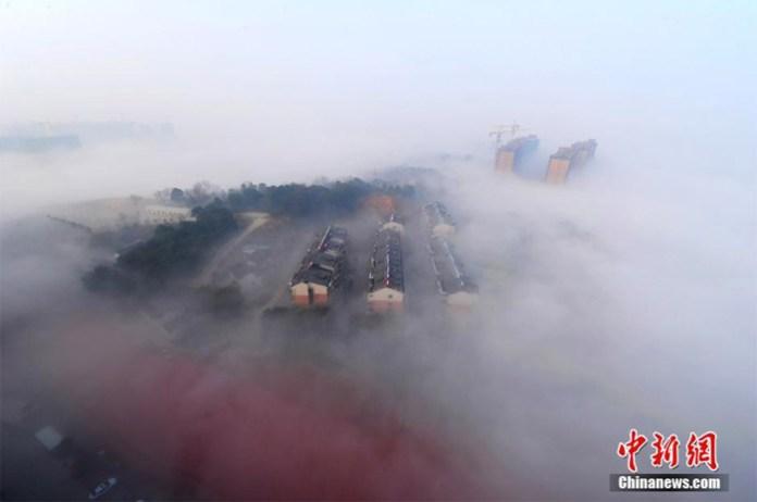 Smog in Changsha