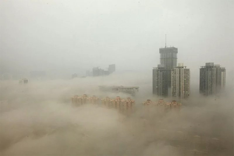 Smog in Changsha