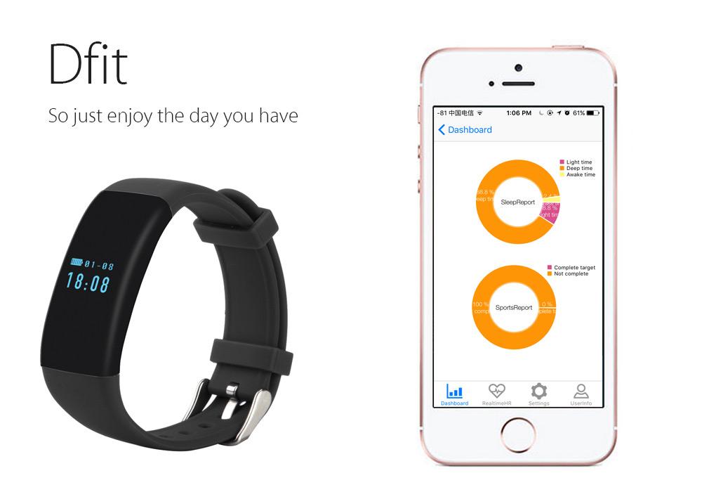 DFit Smart Sports Bracelet