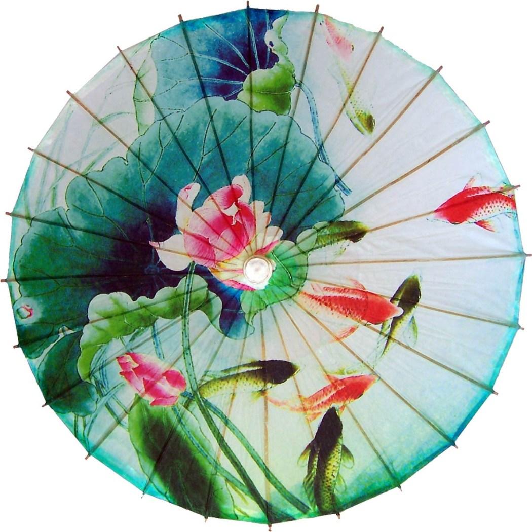Koi Fish and Lillies