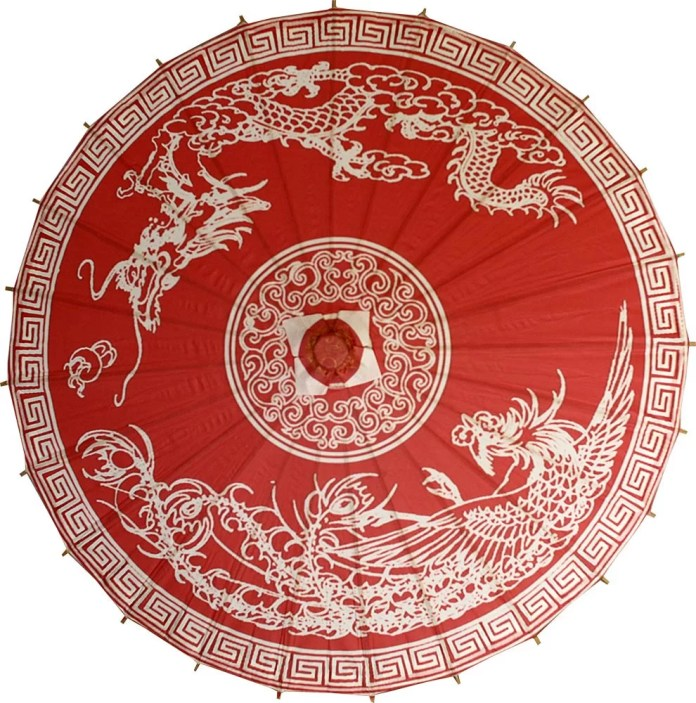 Dragon and Phoenix Umbrella