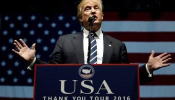 One China Donald Trump