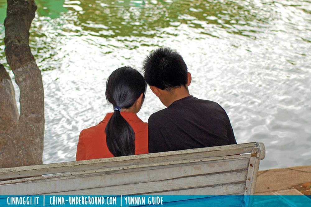 Green lake park yunnan