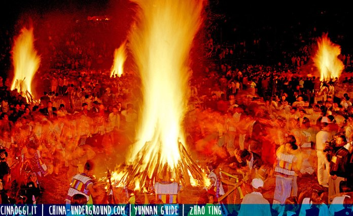 The-Torchlight Festival of Yi Nationality