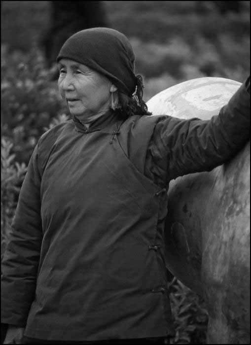 Chinese old woman