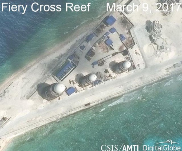 China able to deploy warplanes on artificial islands any time - U.S. think thank