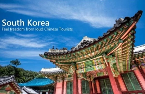 South Korea: safe, clean, calm and no Chinese