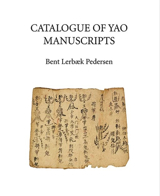 Catalogue of Yao Manuscripts by Bent Lerbæk Pedersen