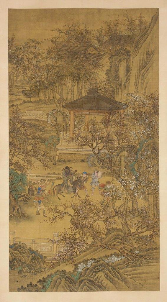 Zhong Kui, the Demon Queller, Patrolling the Palace