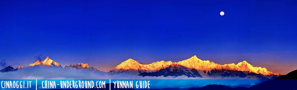 Meili snow mountain, Yunnan