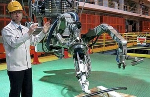 China's first set of nuclear emergency robot successfully deployed