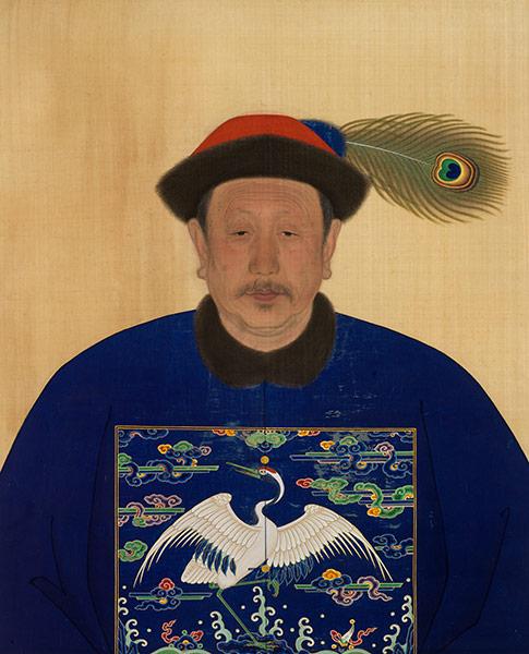 Male Ancestor Portrait