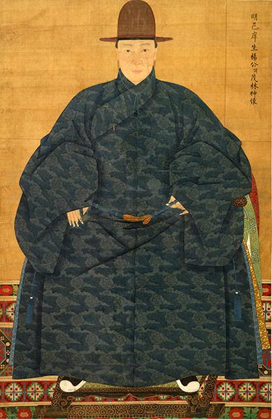 Portrait of Yang Maolin