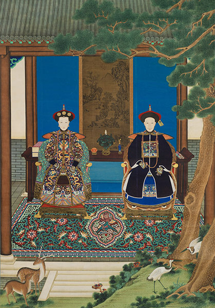 Portrait of a Military Officer and His Wife