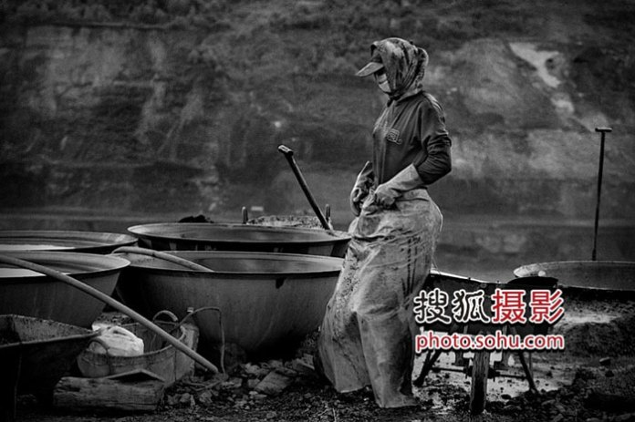 Chinese workers harsh conditions