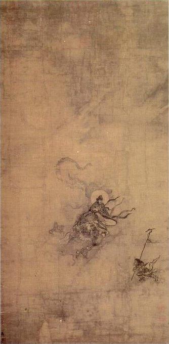 Immortal Riding a Dragon